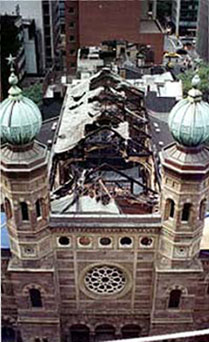 Synagogue Fire 1998